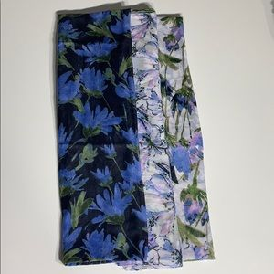 Accessories - Floral Trio Infinity Scarf Set NWOT